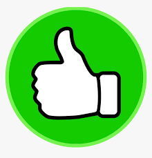 Symbol Thumbs Up Clip Art Vector Free Clipart Clipartix - Clipart Green  Thumbs Up, HD Png Download - kindpng