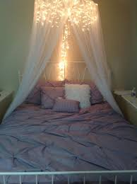 7 Dreamy Diy Bedroom Canopies Sunlit Spaces Diy Home Decor Holiday And More Canopy Bed Diy Bed Canopy With Lights Bedroom Diy