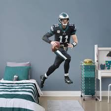 Carson Wentz Philadelphia Eagles Fathead Black Jersey Life Size Removable Wall Decal