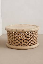 cross hatched wood furnishings drum