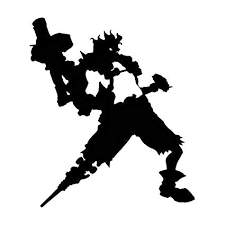 Amazon Com Video Game Overwatch Junkrat Orange 6 Inch Die Cut Vinyl Decal For Windows Cars Trucks Toolbox Laptops Macbook Virtually Any Hard Smooth Surface Automotive
