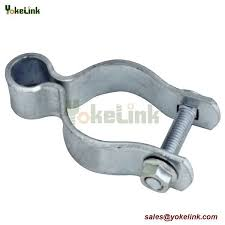 Galvanized Metal Chain Link Fence Accessories Fence Gate Post Hinge