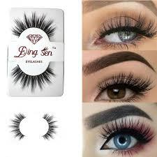 eye lashes mink hair false