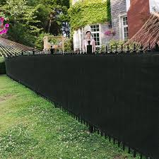 Garden Backyard Ventilated Fade Resistant Outdoor Fence Privacy Screen Shopee Philippines