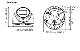 Hikvision DS-2CE79U1T-IT3ZF 8MP Varifocal Turret Camera (Turbo 4k) -  Hikvision HDTVI Range | Hikvision