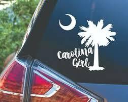 Carolina Girl Vinyl Car Truck Laptop Tumbler Decal Sticker Ebay