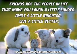 friends are the people in life that make you laugh friendship