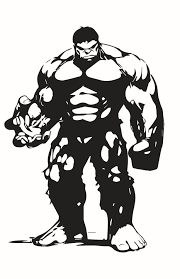 The Hulk Decal Sticker For Car Truck Laptop Window Custom Marvel Hulk Silhouette Art