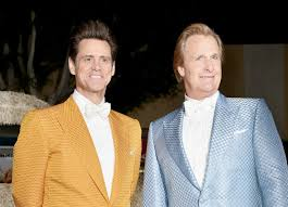 Jim Carrey reconnects with 'Dumb and Dumber' co-star Jeff Daniels ...