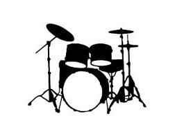 Drum Set Wall Decal Etsy