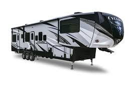 cyclone luxury toy hauler heartland rvs