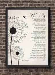 Still I Rise Maya Angelou Poem Wall Art Self Respect Quote Etsy