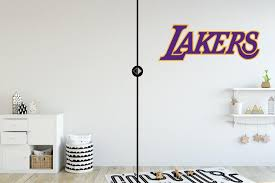 Los Angeles Lakers Logo Wall Decal Nba Wall Decal Egraphicstore