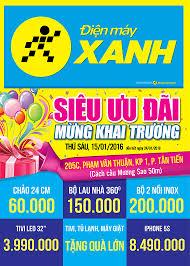 Khai trương siêu thị Điện máy XANH Biên Hòa Phạm Văn Thuận