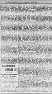 Campbell children.. good attendance :0) Wilmer, Iva & Thomas -  Newspapers.com