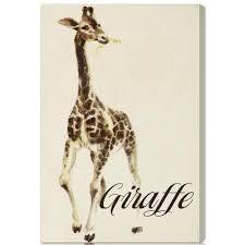 giraffe canvas art canvas wall art