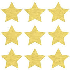 Amazon Com 45 4 Gold Star Wall Decals Repositionable Peel And Stick Vinyl Star Wall Stickers For Nursery Kids Room Mirrors And Doors Home Kitchen