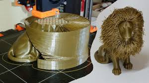 3D Printed Hairy Lion ...