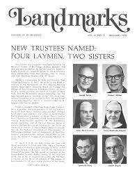 NEW TRUSTEES NAMED: FOUR LAYMEN, TWO SISTERS