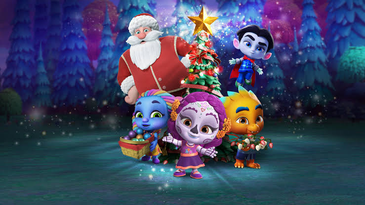 super monsters save christmas""