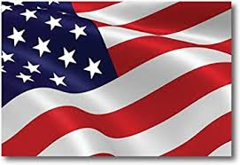 Amazon Com Waving American Flag Car Magnet Decal 4 X 6 Heavy Duty For Car Truck Suv Automotive