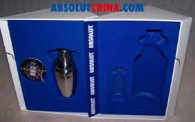absolut vodka 72 bian gift pack with