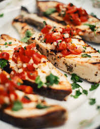 white wine grilled halibut steaks ...