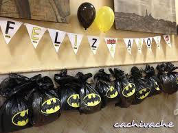 Bolsitas De Cumpleanos De Batman Cumpleanos Batman Bolsitas