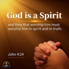 john bible quote image about worshiping god