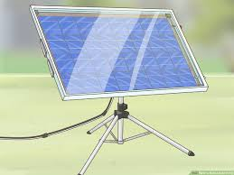 how to build a solar panel with