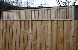 Wood Fence Wood Fence Height Extension