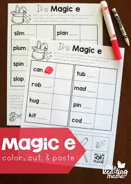 more magic e words freebies this