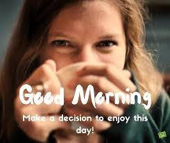 Good Morning Girl drinking Coffee