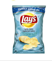 lay s lightly salted potato chips