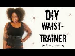 diy waist trainer you