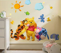 Hot Price 55989 2019 New Faroot Removable Cartoon Creative Bear Winnie The Pooh Wall Sticker Mural Vinyl Decal Kids Baby Room Decor Cicig Co