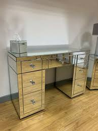 mirrored console vanity dressing table