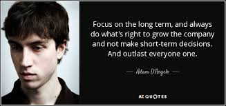 QUOTES BY ADAM D'ANGELO | A-Z Quotes