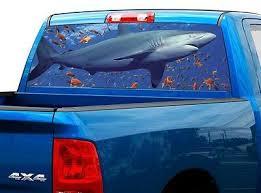 Truck Shark Decal 0 99 Dealsan