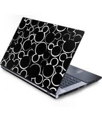Mickey Mouse Silhouette Laptop Skins Laptop Mouse Mickey Mouse Phone Phone Case Decals