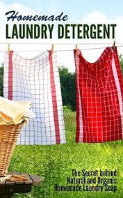 homemade laundry detergent the secret