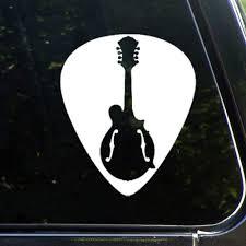 Amazon Com Mandolin Guitar Pickauto Sticker Vinyl Car Decal Decor For Window Bumper Laptop Walls Computer Tumbler Mug Cup Phone Truck Car Accessories Lutymvo3ress Baby