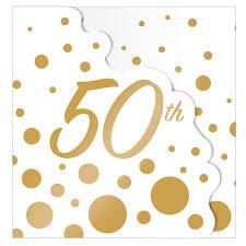 8x Dorado Fiesta Boda Invitacion Tarjetas 50 Aniversario