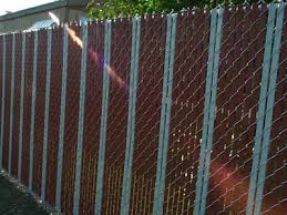 Chain Link Fence Slat Types And Installation