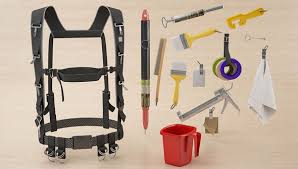 harness painter s tool belt and suspenders