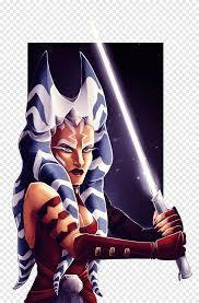 Ahsoka Tano Bossk Art Star Wars Character حرب النجوم خلفيات