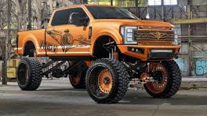 lifted truck render other cars