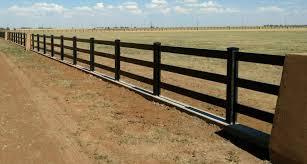 Get A Sleek Modern Fence Look With Black Vinyl Fencing