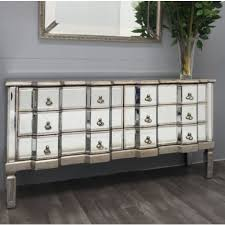 venetian mirrored chest drawers antique