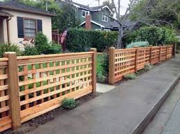 top 60 best front yard fence ideas